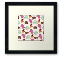 Eat your sweets! Framed Print