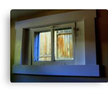 Through The Basement Window Canvas Print
