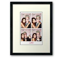 Zoe and Tyler (Zyler) Framed Print