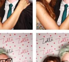 Zoe and Tyler (Zyler) Sticker
