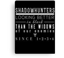 "The Mortal Instruments: ""Shadowhunters"" Canvas Print"