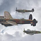 The Battle Of Britain Memorial Flight - Shoreham 2014 by Colin J Williams Photography