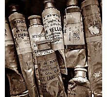 From Grandma's Paintbox Photographic Print