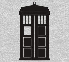 black tardis by kammys