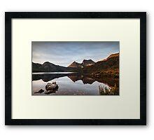 Dawn's First Kiss Framed Print