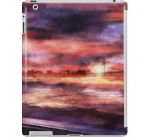 The Red Sunset iPad Case/Skin