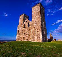 Reculver Castle, Kent, UK by Luke Farmer