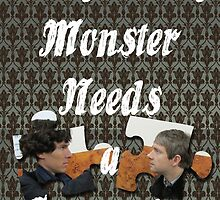 Every Lonely Monster...[Johnlock] by thescudders