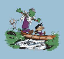 Gohan and Piccolo by ddjvigo