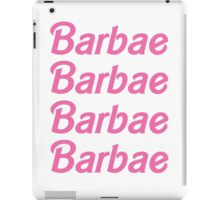 Barbae iPad Case/Skin