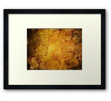 Colorful autumn leaves texture 2 Framed Print