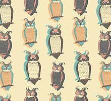 Owls by julietblnk