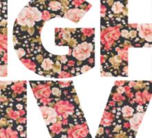 Vintage Floral SNL Sticker