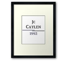 JCC Framed Print