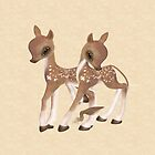 Cute Little Deer, tote, case, throw pillow by LoneAngel