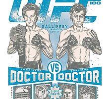 UFC 100 - Gallifrey's card by Lorenzo Cingolani