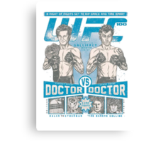 UFC 100 - Gallifrey's card Canvas Print