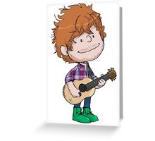 Ed Sheeran Greeting Card