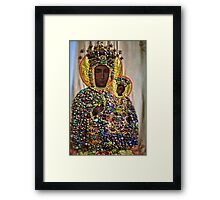 The Black Madonna of Czestochowa. Queen of Poland. Views: 5401 .Has been SOLD ! Promotor Fidei. Framed Print