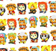 One Piece - Mugiwara Crew [Bear Edition] by Sandy W