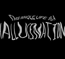 This whole life is a hallucination  by kittyholocaust