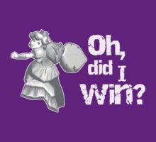 Oh, did I win? by vestigator