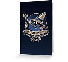 Black Magic School Greeting Card