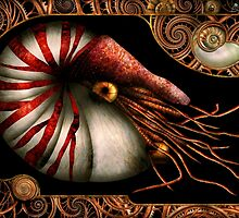 Steampunk - Nautilus - Coming out of your shell by Mike  Savad