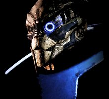 Garrus Vakarian Portrait - Mass Effect by Mellark90