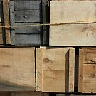Crates in the Orchard 2 by marybedy