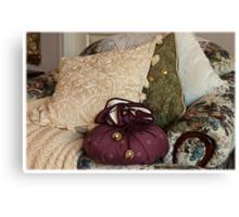 """""""A Chair Of Pillows"""" Canvas Print"""