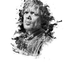 Tyrion Lannister Black Ink by Julien Missaire