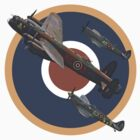 The Battle of Britain Memorial Flight Tee Shirt 2 by Colin J Williams Photography