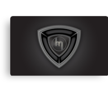 Mazda Rotary Badge Canvas Print