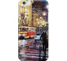 Prague Masarykovo Nabrezi Evening Walk iPhone Case/Skin