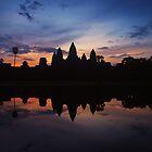 Jewel of Angkor - Cambodia by Mark Shean
