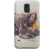 Christmas cat. Elizabeth Moore Golding 2014© Samsung Galaxy Case/Skin