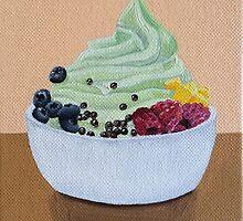 Frozen Yogurt Painting by Lagoldberg28