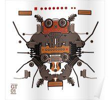 The robobugs guitar Poster