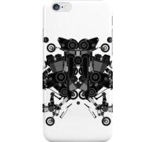 black motorbike robot 1 iPhone Case/Skin