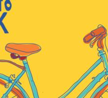 Bike to work Sticker