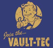 Join Vault-Tec T-Shirt