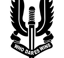 Who Dares Wins by redlion74