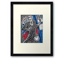 "The Twelfth Doctor (""All Thirteen!"") Framed Print"