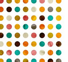Autumnal Polka-dots colors by cafelab