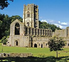 Fountains Abbey10 by Priscilla Turner