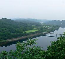 Daechong Lake In Chungcheong Province, South Korea by koreanrooftop