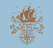 A Pirate's life for me-Pirates Kids Clothes