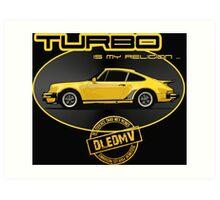 DLEDMV - Turbo is my religion Art Print