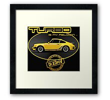 DLEDMV - Turbo is my religion Framed Print